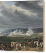 The Battle Of Jemappes Wood Print