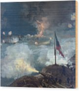 The Battle Of Port Hudson - Civil War Wood Print