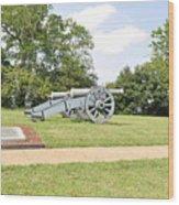 The Battle Of Yorktown Virginia Wood Print