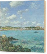 The Bay Of Douarnenez Wood Print
