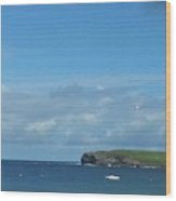 The Bay Of Kilkee On A Summer's, West Of Ireland Wood Print