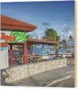 The Beach - Arashi Beach - Aruba - West Indies Wood Print