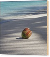 The Beaches Of Rarotonga Wood Print