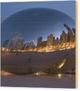 The Bean - Millenium Park - Chicago Wood Print
