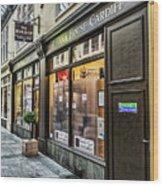 The Bear Shop Wood Print
