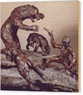 The Bear Trap Wood Print