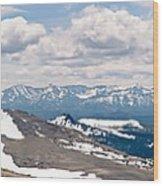 The Beartooth Mountains Wood Print