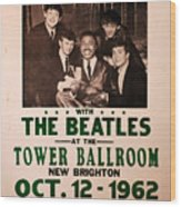 The Beatles And Little Richard Poster Collection 6 Wood Print