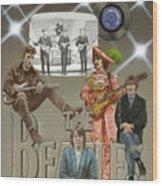 The Beatles Wood Print by Marshall Robinson