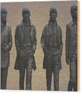 The Beatles N F Wood Print
