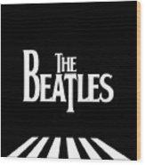The Beatles No.03 Wood Print by Caio Caldas