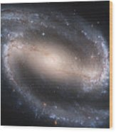 The Beautiful Barred Spiral Galaxy Ngc 1300 Wood Print