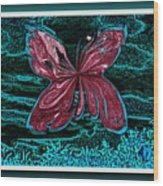The Beauty Of A Butterfly's Spirit Wood Print