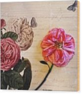 The Beauty Of A Dried Rose Wood Print