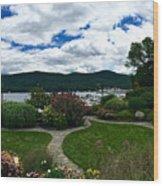 The Beauty Of Lake George Wood Print