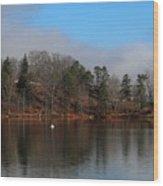 The Beauty Of Lake Junaluska  Wood Print