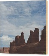 The Beauty Of Utah Arches Wood Print