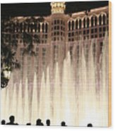 The Bellagio Wood Print