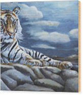 The Bengal Tiger Wood Print