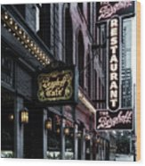 The Berghoff Restaurant Wood Print