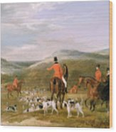 The Berkeley Hunt Wood Print by Francis Calcraft Turner