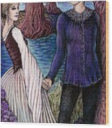 The Betrothal Wood Print