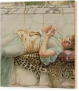 The Betrothed Wood Print by John William Godward