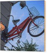 The Bicycle Thief - Halifax Wood Print