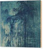 The Big, The Rain, Retro Wood Print