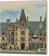 The Biltmore House Wood Print