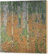 The Birch Wood Wood Print