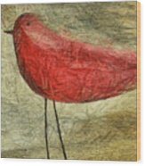The Bird - Ft06 Wood Print