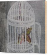 The Bird Cage Wood Print