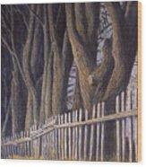 The Bird House Wood Print