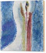 The Bird Wood Print