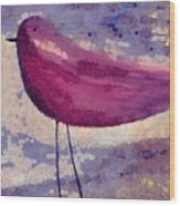The Bird - K0912b Wood Print