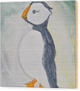The Bird Of Winter Wood Print