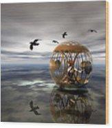 The Birdcage Wood Print