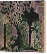 The Birdhouse Wood Print