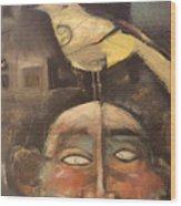 The Birdman Of Alcatraz Wood Print