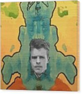 The Birth Of Rorschach The Inventor Of The Inkblot Test Wood Print