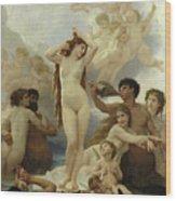 The Birth Of Venus Wood Print