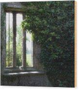 The Black Kirk Wood Print