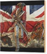 The Black Loyalist Wood Print by Kurt Miller