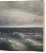 The Black Sea Wood Print