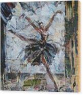 The Black Swan Wood Print