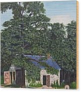 The Blacksmith Shop Wood Print