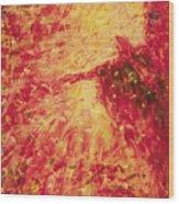 The Blind Beggar - Bgblb Wood Print