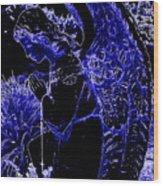 The Blue Angel Wood Print
