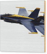 the Blue Angels leads the diamond in the Echelon Wood Print